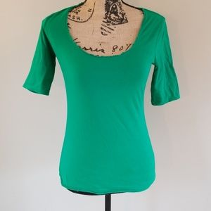 New York & Company green tee size XS